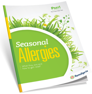 Seasonal allergies – PSST! guide – Familiprix
