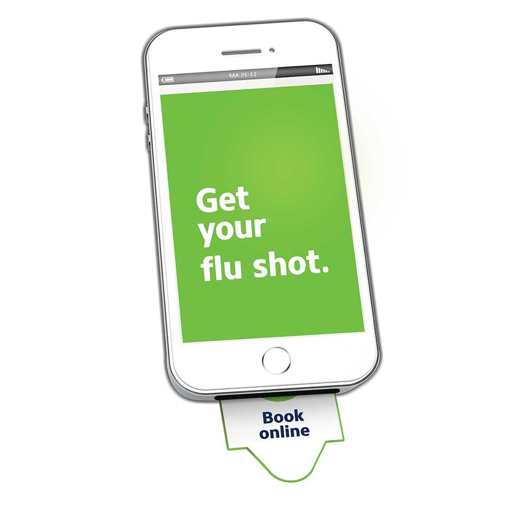 get your flu shot campaign Familiprix