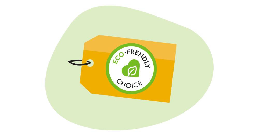 Éco-friendly tag