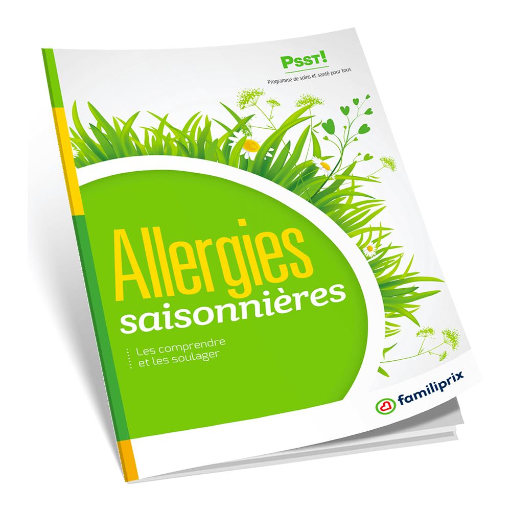 PSST! Allergies saisonnières