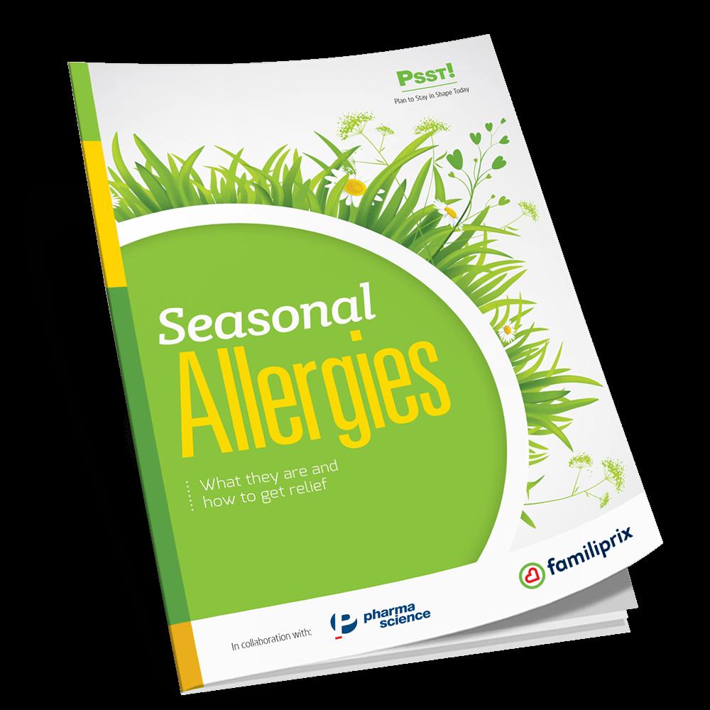 PSST! Seasonal allergies