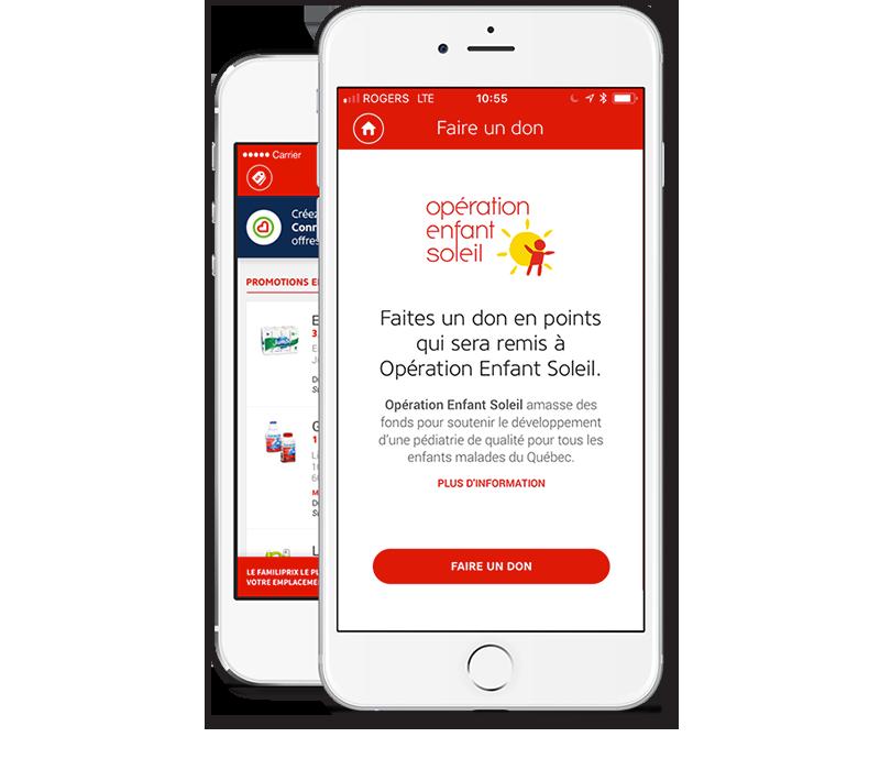 Faire un don op ration enfant soleil familiprix - Comment faire partir un coup de soleil ...