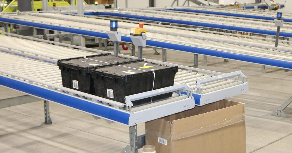 Entrepôt robotisé