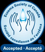 Seau de la société canadienne de l'eczéma