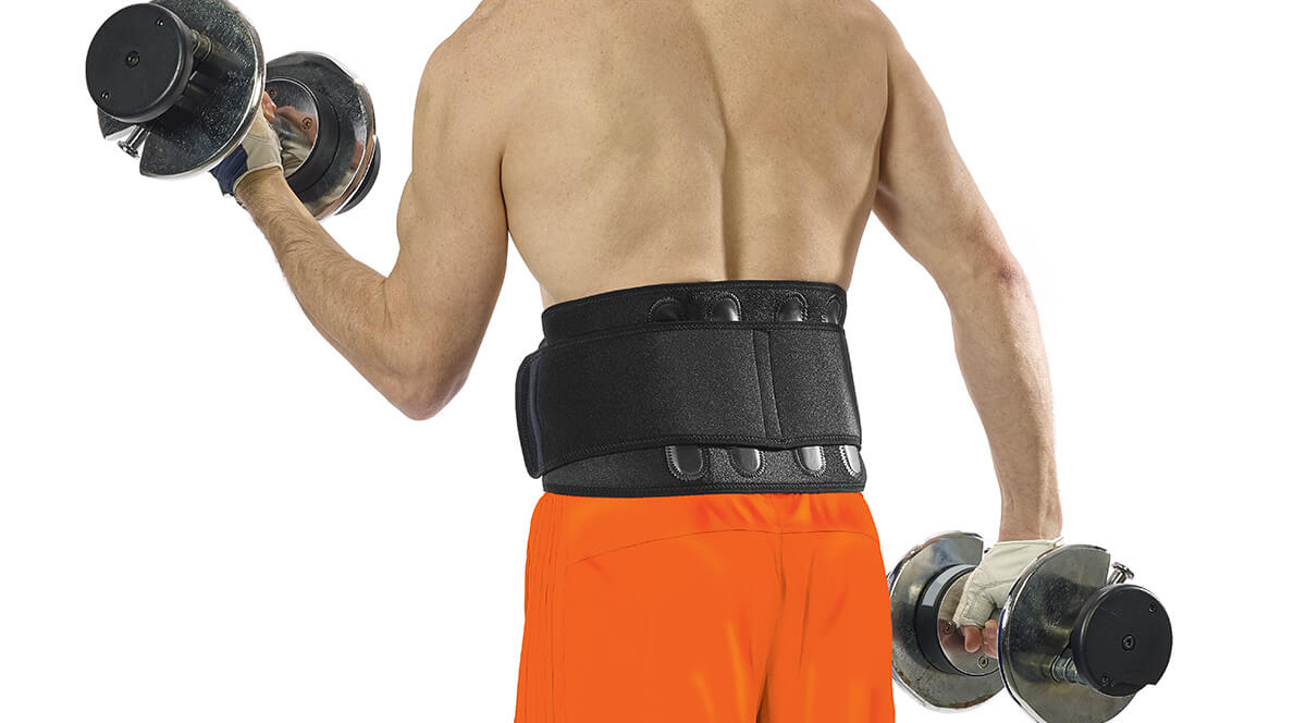Perforated neoprene supports