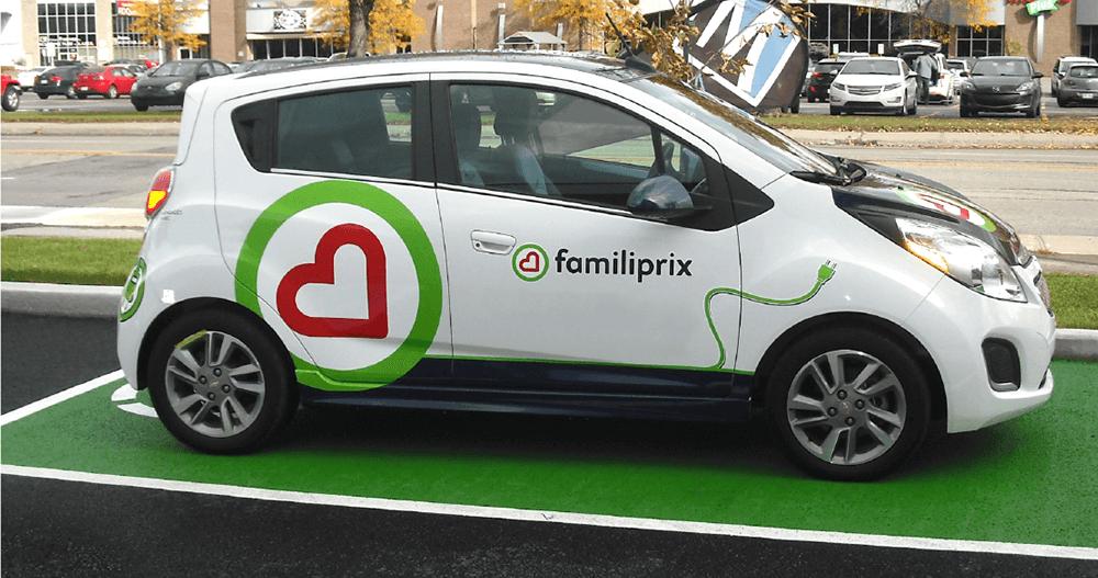 Livraisons en voitures électriques