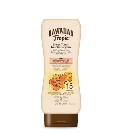HAWAIIAN TROPIC Toucher soyeux ultra radieux FPS 15