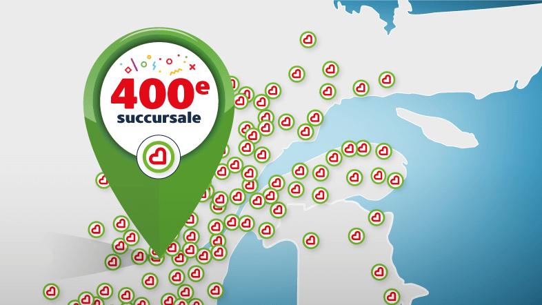 400e succursale