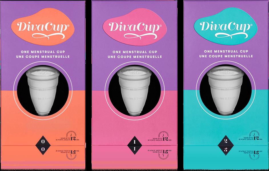 Diva Cup - Modele 0, Modele 1 et Modele 2