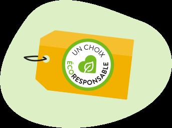 Étiquette - Un choix écoresponsable